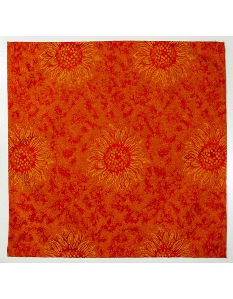 Napkin Sunflower Red
