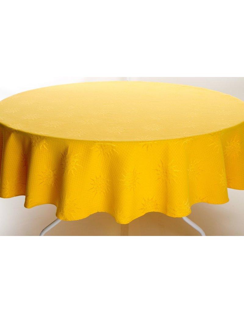 BB Yellow Jacquard, Round