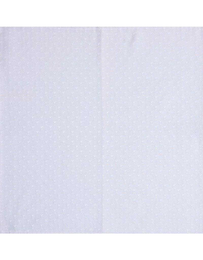 Napkin Triangle White