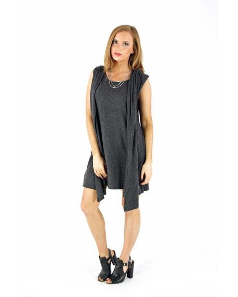 Hooded Drape Tunic