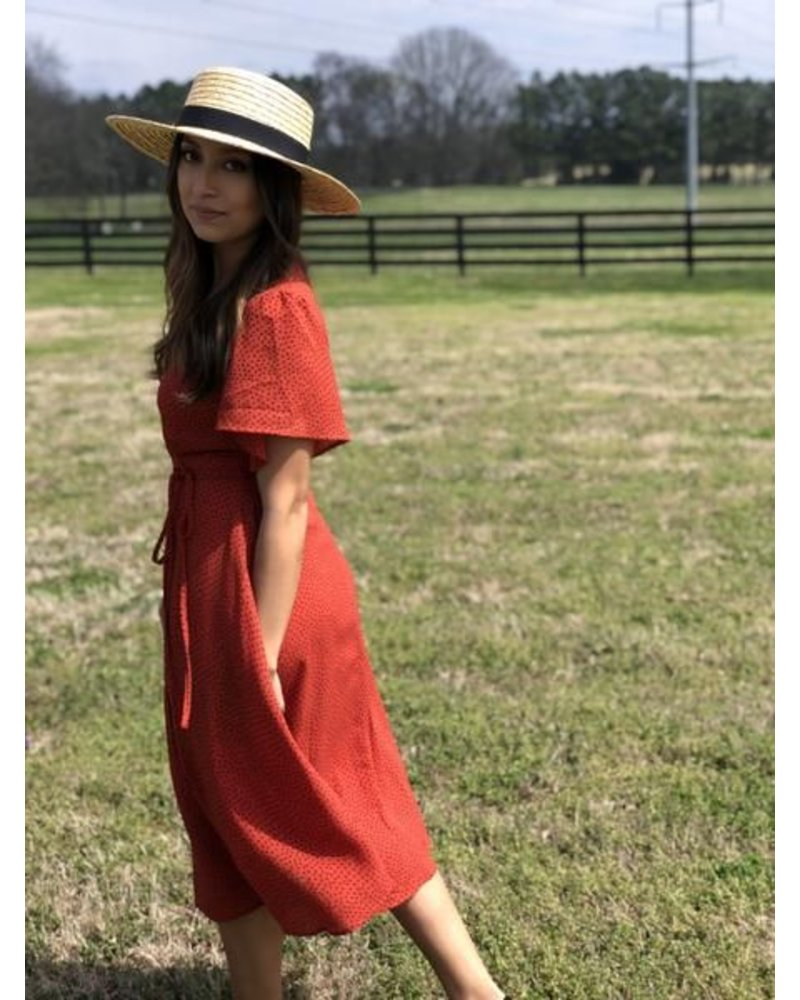 Lucy Red Dress
