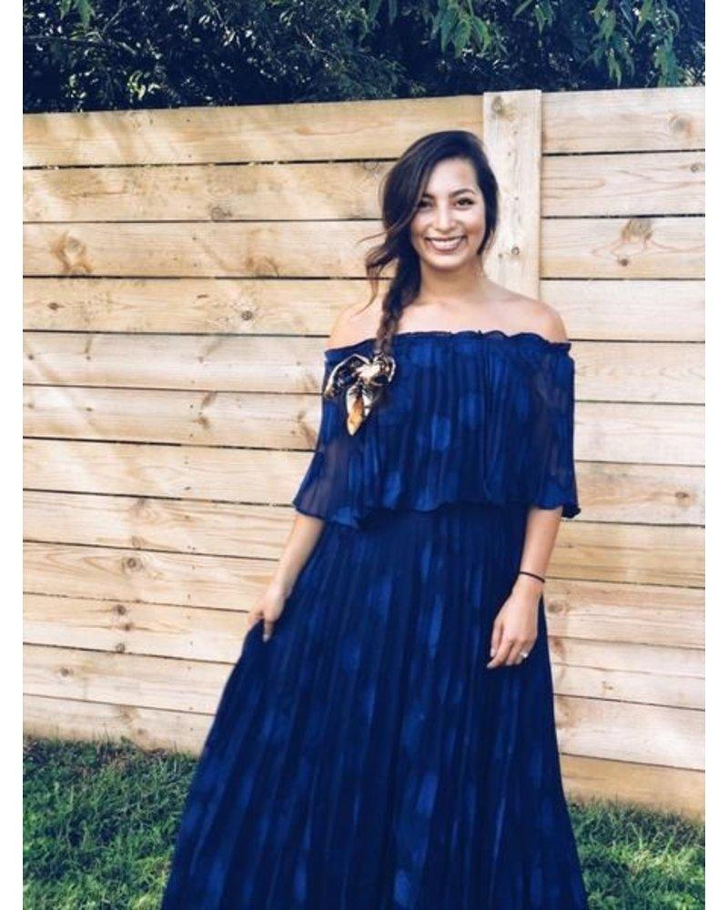 Sadie Pleated Dress