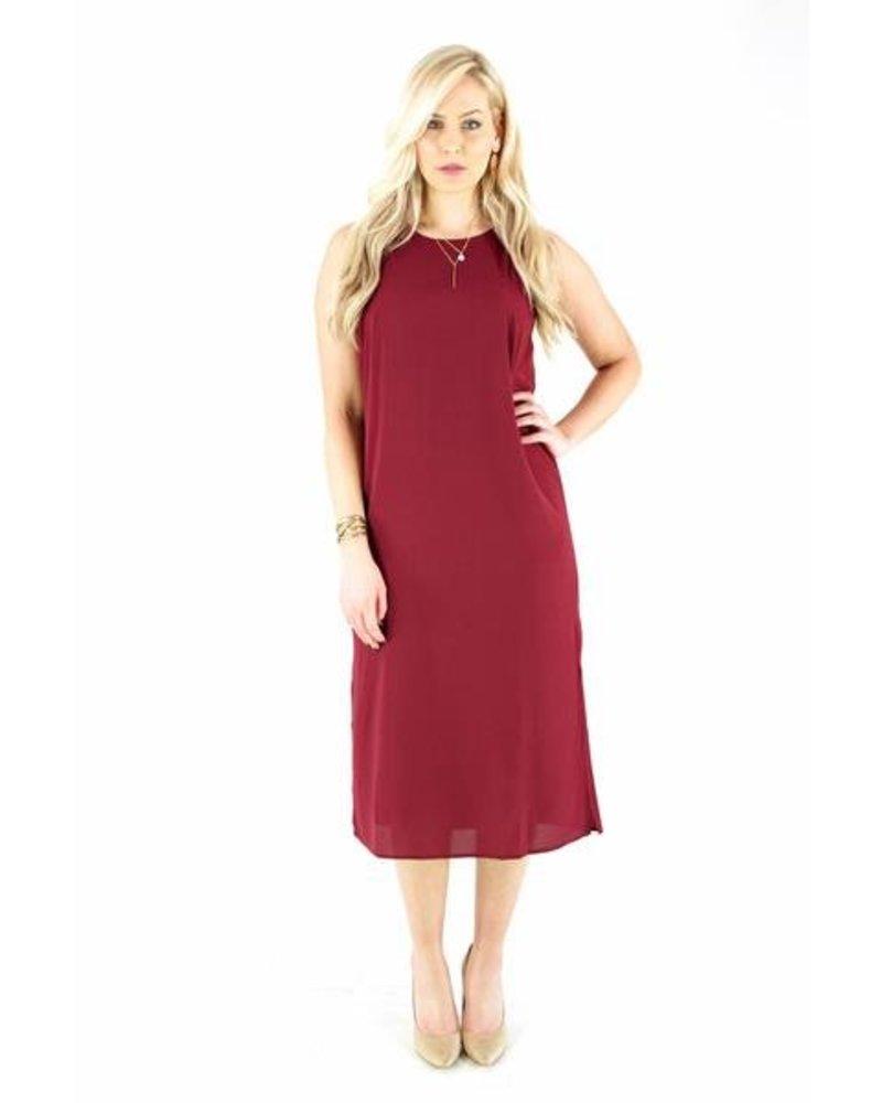 Wine Down Midi Dress