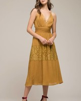 Moon River Belle Strap Dress