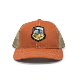 Outdoor Cap Brushy Logo Mesh Hat