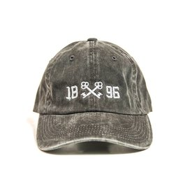 PWU Port Authority 1896 Keys Hat - Black Washed