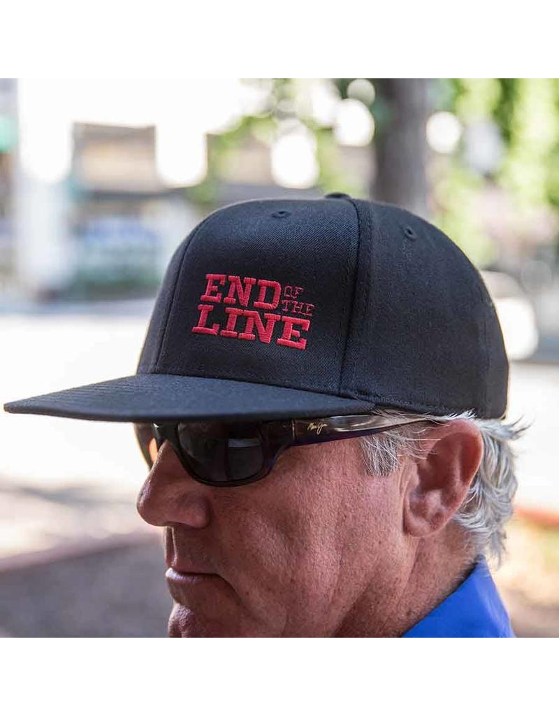 Port Authority Flex Fit Flat Brim Flex Fit Hat / End of the Line