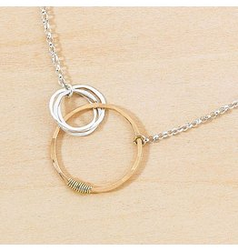 Freshie & Zero Love Necklace 3 Circles SS