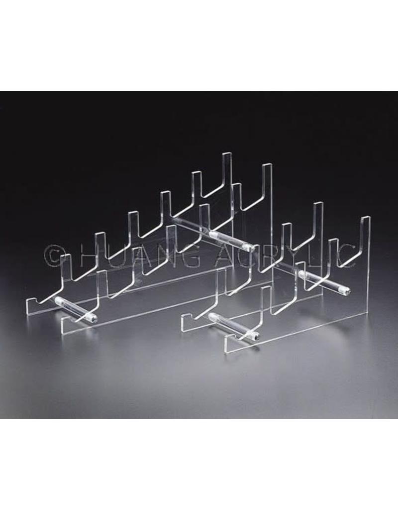 """4"""" Acrylic Plate Rack"""