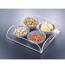 Square Acrylic Serving Tray
