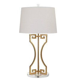 Wagner Greek Key Table Lamp