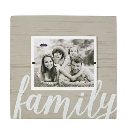 FAMILY GRAY FRAME 8x10