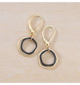 Freshie & Zero Mini Antique Caldera Earrings GF
