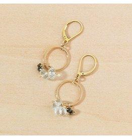 Freshie & Zero Flutter Earrings, Gold