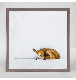 Greenbox Art 6x6 Mini Framed Canvas Baby Fawn