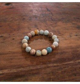 Ali & Bird Amazonite Beaded Bracelet