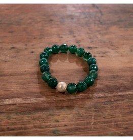 Ali & Bird Green Turquoise Beaded Bracelet