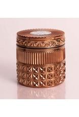 Capri Blue 11oz Bronze Faceted Jar Dark Vanilla & Sandalwood