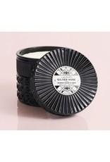 Capri Blue 11oz Black Faceted Jar Smoked Clove & Tabac