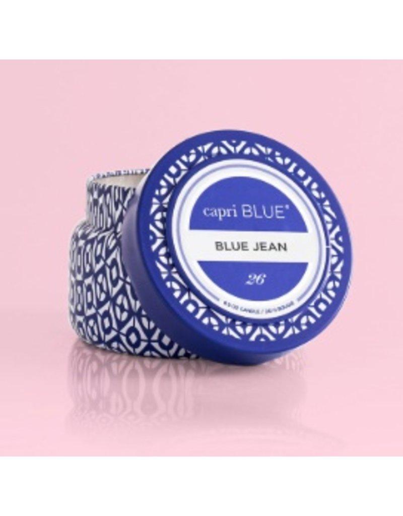 Capri Blue 8.5oz Travel Tin Blue Jean