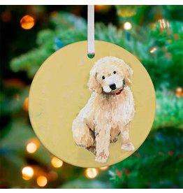 Greenbox Art Golden Doodle Ornament