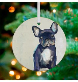 Frenchie Pup Ornament