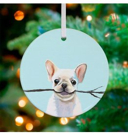 Frenchie Fetch Ornament