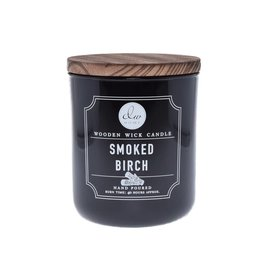 DW Home Candles Smoked Birch Wooden Wick