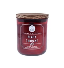 DW Home Candles Black Currant Wooden Wick