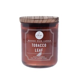 DW Home Candles Tobacco Leaf Wooden Wick