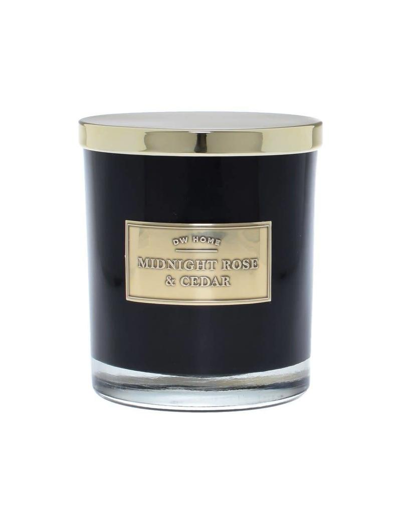 Dw Home Candles Midnight Rose Cedar Large Double Wick