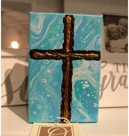 Scott Ellis 5x7 Cross Painting Act 2:38