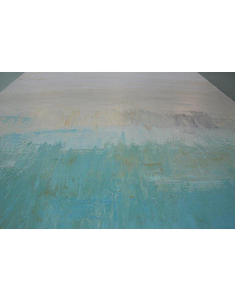 Scott Ellis 36x36 Blue Bliss Painting