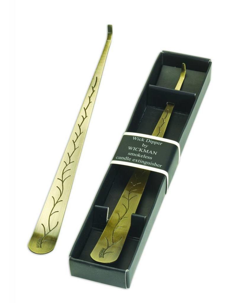Wickman Antique Brass Finished Wick Dipper