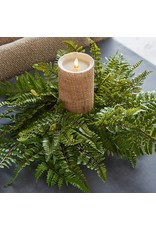 """20"""" Fern Candle Ring"""