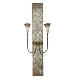 A&B Home Two-Light Wall Sconce