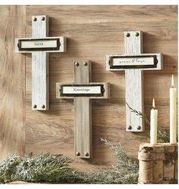 Faith Cross Plaque
