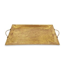 Large Gold Foil Tin Tray