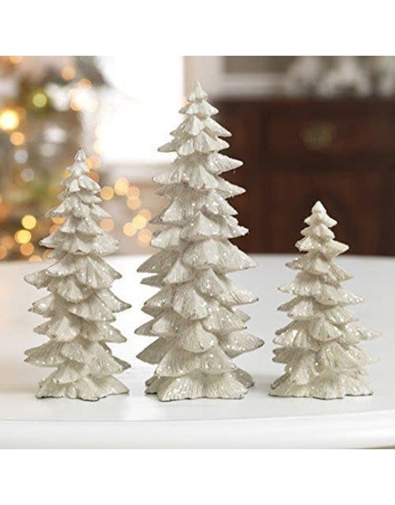 """9.5"""" Tree Set/3 White"""