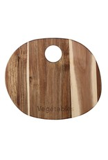 "Bloomingville Acacia Wood ""Vegetable"" Cutting Board"