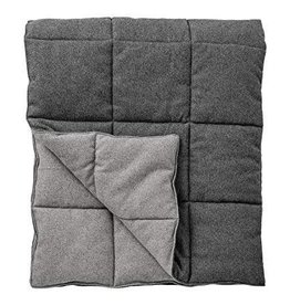 Bloomingville Grey Wool Throw