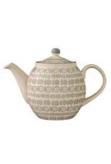 """Bloomingville 9.5""""L x 6.5""""H Stoneware Karine Teapot"""