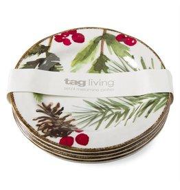 tag ltd greenery melamine app plate