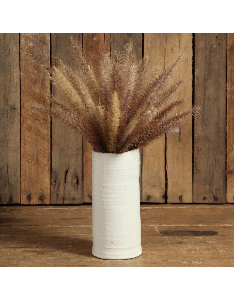 HomArt Bower Ceramic Vase - Lrg Cream