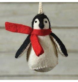 HomArt Felt Penguin Ornament