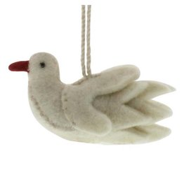 HomArt Felt Dove Ornament