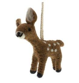 HomArt Felt Deer Ornament