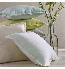Split P Linen Pillow Stone