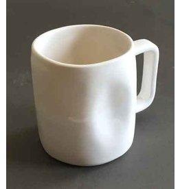 Alex Marshall Pottery Small Mug Gloss White