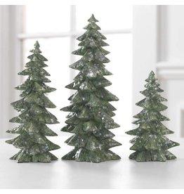 "9.5"" Tree Set/3 Green"